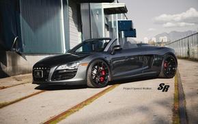 Картинка Audi, ауди, родстер, кабриолет, 2012, SR Auto Group, V-10, Speed Walker