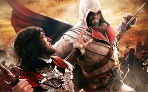 Картинка Нож, Удар, Убийца, Brotherhood, Assassin's Creed