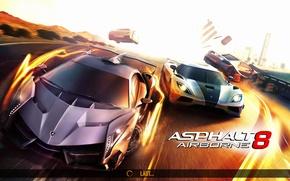 Картинка гонки, airborne, asphalt8