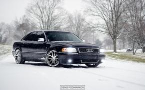 Картинка Audi, winter, a8
