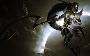Картинка Moon, Night, Diana, Blade, League of Legend