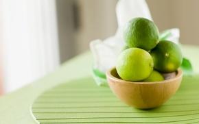Обои зеленый, широкоформатные, широкоэкранные, фон, HD wallpapers, обои, еда, полноэкранные, фрукт, background, wallpaper, лайм