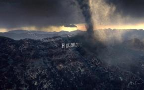 Картинка Голливуд, Hollywood, Ураган, Смерч, Торнадо, Послезавтра
