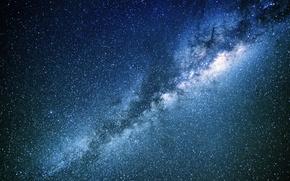Обои космос, звезды, тайна, Млечный Путь, бесконечность