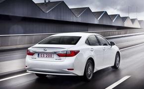 Обои машина, авто, Lexus, вид сзади, лексус, ES 200