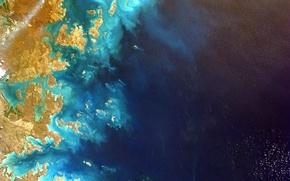 Картинка планета, NASA, Земля, космос, Австралия, foto, океан, снимок, Australia