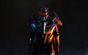 Картинка fallout 3, armor, steel, Enclave Powered Armor
