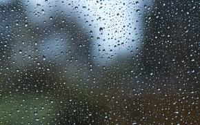 Картинка стекло, вода, капли, поверхность