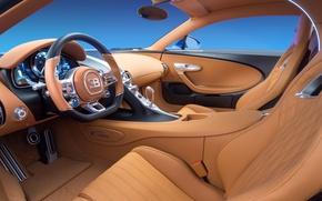 Обои Bugatti, avto, 2016, chiron