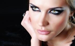 Картинка sexy, model, makeup
