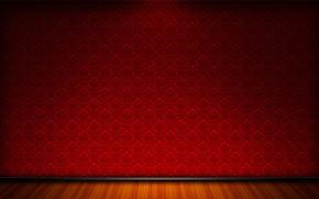 Картинка красный, стены, пол, фон, стена, текстуры
