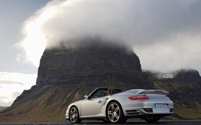 Обои туман, белый, Авто