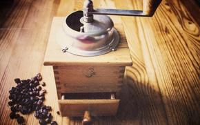 Картинка old, coffee, coffee beans, murzenko, coffeegrinder