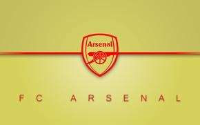Картинка arsenal, logo, minimalism, football