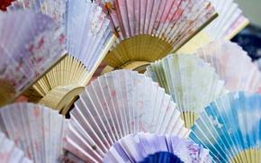 Картинка текстура, Япония, веер
