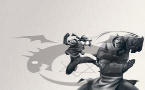 Картинка anime, boys, full metal alchemist brotherhood