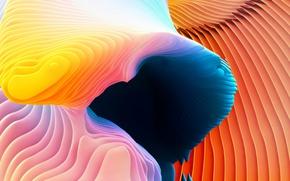 Обои краски, color, abstraction, Macbook Pro Retina, 2016, macOS