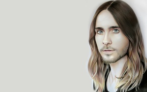Картинка рисунок, портрет, Jared Leto