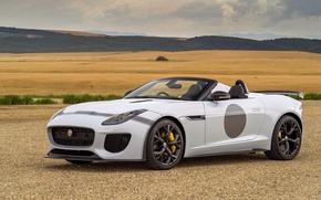Картинка Jaguar, ягуар, UK-spec, F-Type, 2014, Project 7