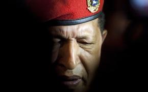 Картинка лицо, берет, Команданте, Уго, Чавес