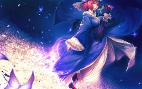 Картинка полет, фея, anime