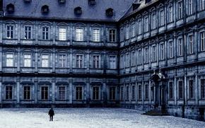 Обои пилястры, здание, фон, архитектура, крыша, обои, окна, разное, колонны, фото, крыльцо