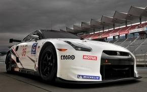 Картинка GTR, Nissan, motorsport, racer