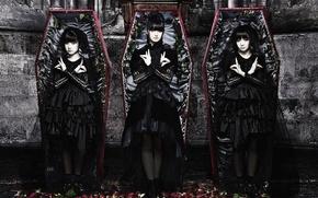 Картинка heavy metal, Yui Mizuno, j-pop, Babymetal, Moa Kikuchi, Japane, Suzuka Nakamoto