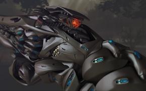 Картинка война, инопланетяне, Crysis 3, оружие будущего