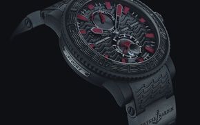Картинка часы, Watch, Maison Horlogere, ULYSSE NARDIN, Black Sea