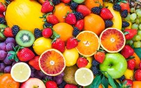 Картинка ягоды, фрукты, fresh, fruits, berries