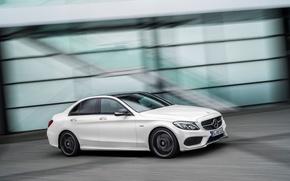 Картинка Mercedes Benz, AMG, 4MATIC, 2015, C450