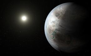 Картинка планета, Лебедь, Земля, NASA, созвездие, экзопланета, похожа, Kepler-452b, Земля 2.0