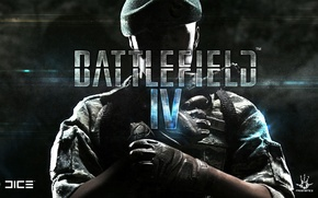 Картинка Пистолет, Солдат, Fan Art, Граната, Battlefield 4