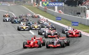 Картинка McLaren, Ferrari, Mercedes