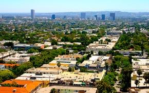 Картинка city, город, Калифорния, USA, США, Los Angeles, California, Лос Анджелес