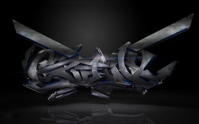 Обои Creative, Dark, Graffiti