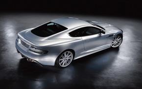 Обои серебристый, Aston Martin