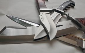 Обои сталь, ножи, клинки, холодное