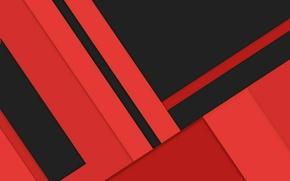 Картинка линии, красный, абстракция, черный, геометрия, design, color, material