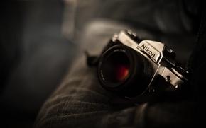 Обои 155, фотоаппарат, Nikon, Никон, объектив