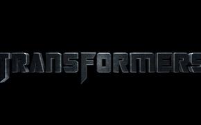 Картинка буквы, слово, Transformers