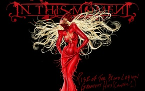 Картинка White, Hair, Blood, In This Moment, Maria Brink