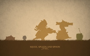 Картинка spoon, hero, Defense of the Ancients, DotA 2, squee, spleen, Techies, минер, течис, goblins
