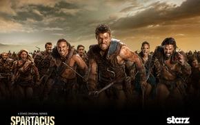 Картинка Spartacus, Спартак, War of the damned