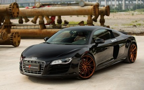 Картинка Audi, Forged, Series, V10, Vossen, Precision, R8