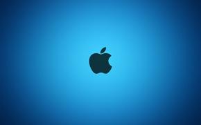 Картинка Apple, Яблоко, Blue