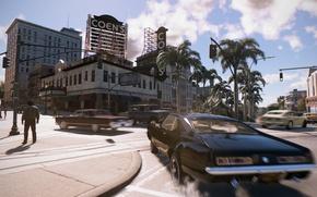 Картинка город, Muscle car, 2K Games, Mafia 3, Hangar 13 Games