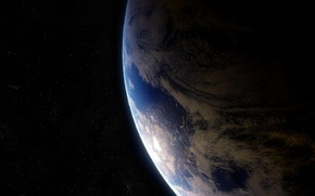 Картинка звезды, планета, Земля