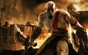 Картинка игра, game, кратос, kratos, бог войны, ps3, God of War Ascension